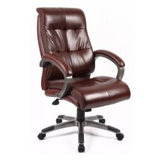 Catania Managers High Back Leather Chair - 24 HR DELIVERY