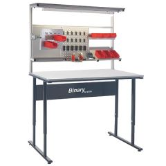 Binary Manual Height Adjustable Workbench
