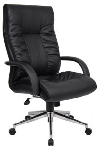 Mayfair High Back Leather Chair