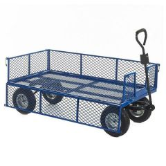Industrial Mesh Base Trucks with Sides - 500kg