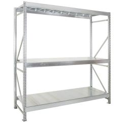 Midispan Industrial Racking - M50 frames with C70 Beam Levels