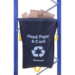 Racksack® End of Aisle Recycling Waste Sacks