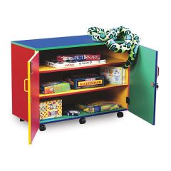 Mobile Monarch Multi-Coloured Storage Cupboard