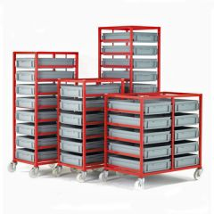 Mobile Tray Racks with 21L Trays