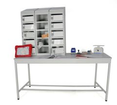 Open Standard Mailroom Bench
