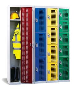 Armour Perforated Door Lockers