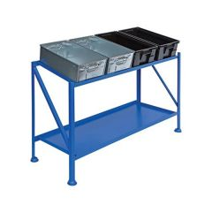 Picking Stands with galvanised steel Tote Pans