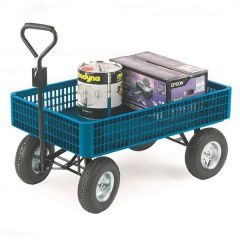 350 kgs Plastic Turntable Truck