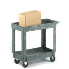 225kgs Plastic Service Tray Trolleys