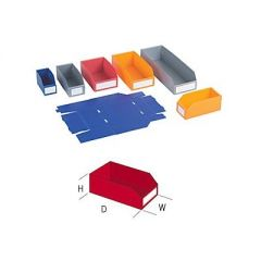 Polypropylene Storage Bins - 100mm High