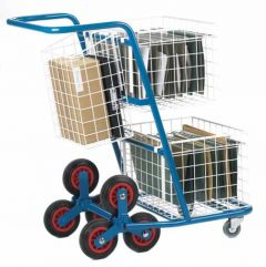 Post Distribution Stairclimber Truck