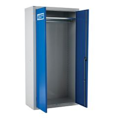 Armour PPE Storage Cupboard with Hanging Rail - 1800 x 900 Full Width Open