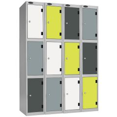 Probe ShockBox Inset Laminate Lockers - Colourful Shockproof Lockers