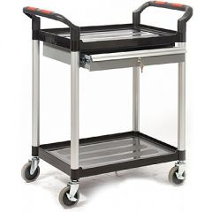 Proplaz Shelf Trolleys with Drawers and Cupboards