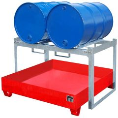 Steel Retention Basins with Shelves