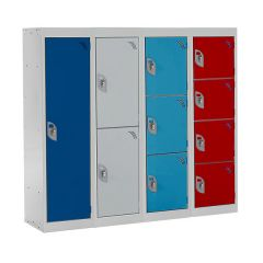 Primary School Lockers - 1100mm High