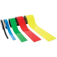 Magnetic Easy Wipe Racking Strip - Colours