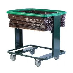 Self-levelling Trolley with PVC Bag or Steel Sides