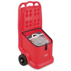 SpillKart complete with 60 litre general purpose spill kit