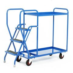 2 Shelf Tray Trolley - 175kg