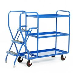 3 Shelf Tray Trolley - 175kg