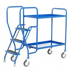 2 Shelf Tray Trolley - 125kg