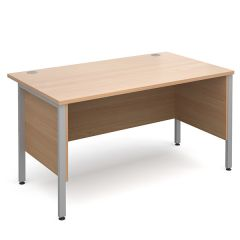 Brooklyn Straight Desks with Modesty Panels
