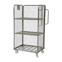 Three Sided Merchandise Picking Trolley
