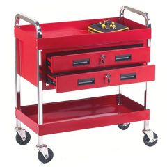 Tool Tray Trolleys with 2 Drawers