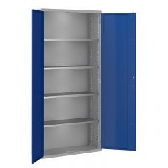 Toolstor Tall Storage Cupboard with 4 Shelves
