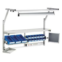 Treston Height Adjustable Above Workbench Accessories