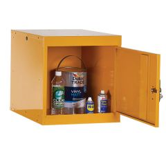 TUFF 45 Hazardous Storage Cupboard - Open