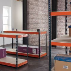 TUFF Shelving 450KG 600mm Deep Storage and Workbench Bundle Deal
