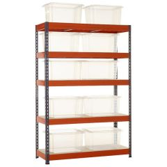 TUFF Shelving Kit with 35L Storage Container