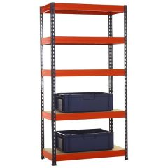 TUFF Shelving Kit with 40L Euro Containers