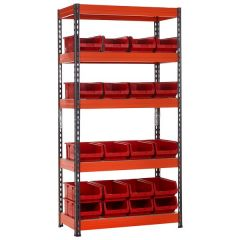 TUFF Shelving Kit with TC Bins