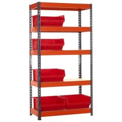 TUFF Shelving Kit with TC6 Bins