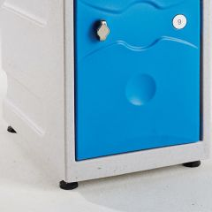 Ultrabox Plastic Lockers Adjustable Feet