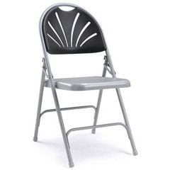Value Grey Comfort Folding Chairs