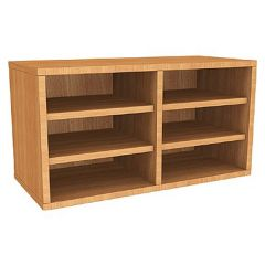 Wall Mounted 6 Compartment Pigeonhole Unit