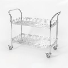 Value Wire Basket Tray Trolleys
