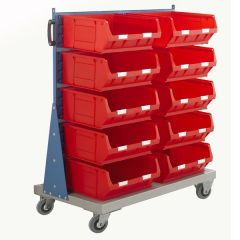 Single Sided Louvre Panel Trolley Kits