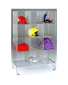 Wire Mesh Personal Effects Lockers