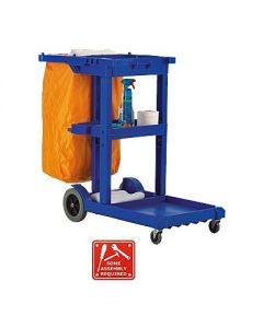 Value Janitorial Cleaning Trolley