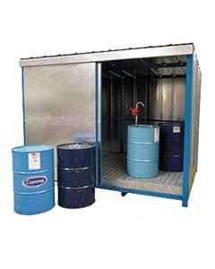 Hazardous Drum Storage Chemicals Store