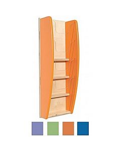 Wall Mounted Leaflet Holder with A5 Four Pockets