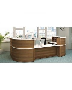 Invite Modular Reception Counter System Fully Assembled