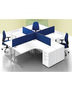 Lyle Desk Mounted Screens - Next Working Day Delivery