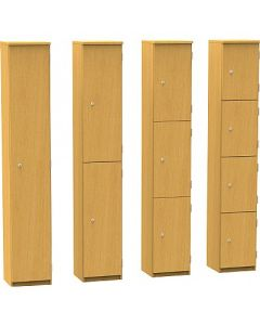 High Quality 1780mm High Wooded Lockers