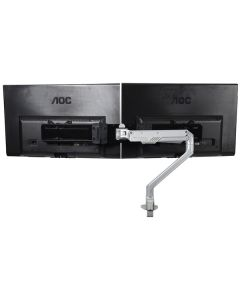 Double Gas Assisted Monitor Arm